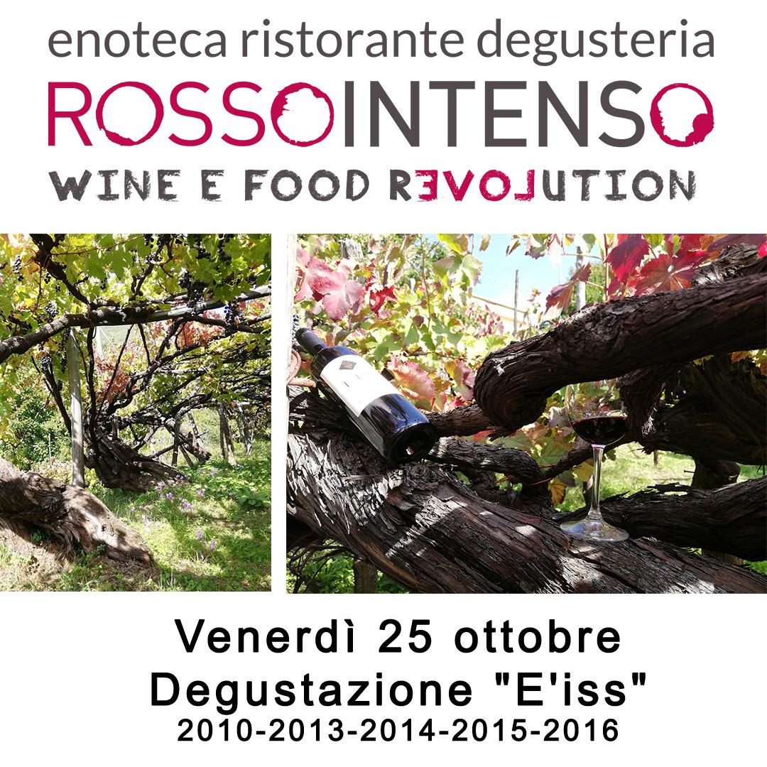 """Degustazione """"E'iss"""" Tintore prefillosera 25/10"""