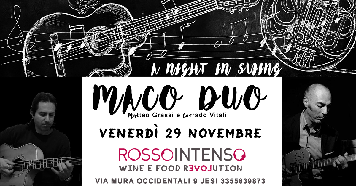 MaCo Duo: A night in swing @rossointenso